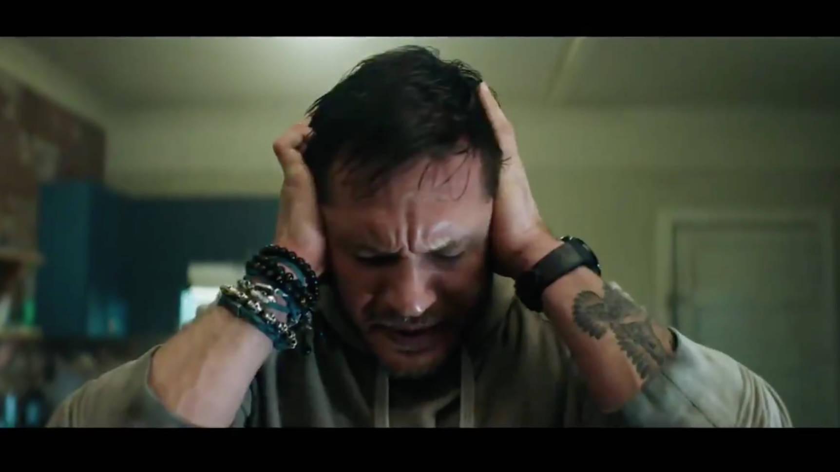 Watch Tom Hardy S Horrifying Transformation In Venom Trailer Radio X
