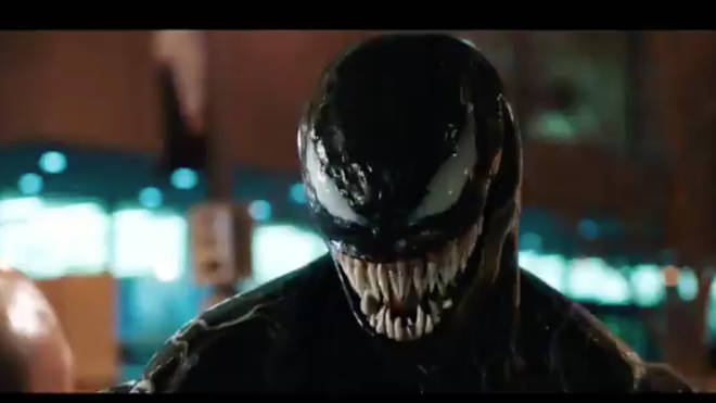 Tom Hardy transforms in new Venom trailer