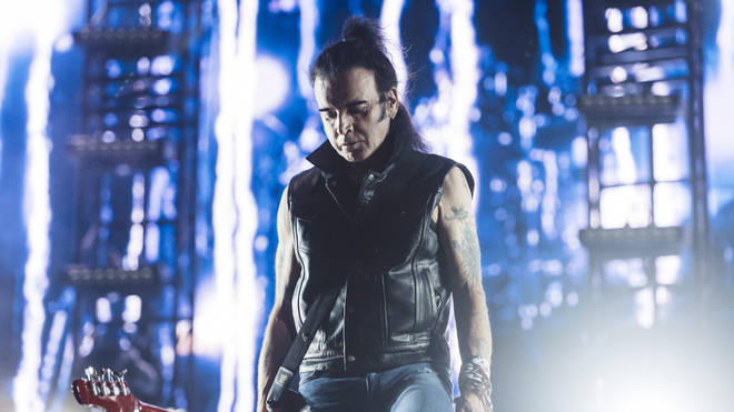 The Cure bassist Simon Gallup at MadCool festival