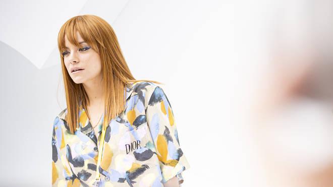 Lily Allen at Paris Fashion week