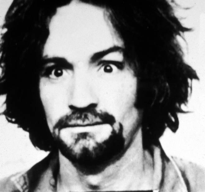 1969: Police mug shot of American cult leader and murderer Charles Manson.