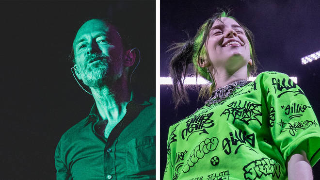 Radiohead's Thom Yorke and Billie Eilish
