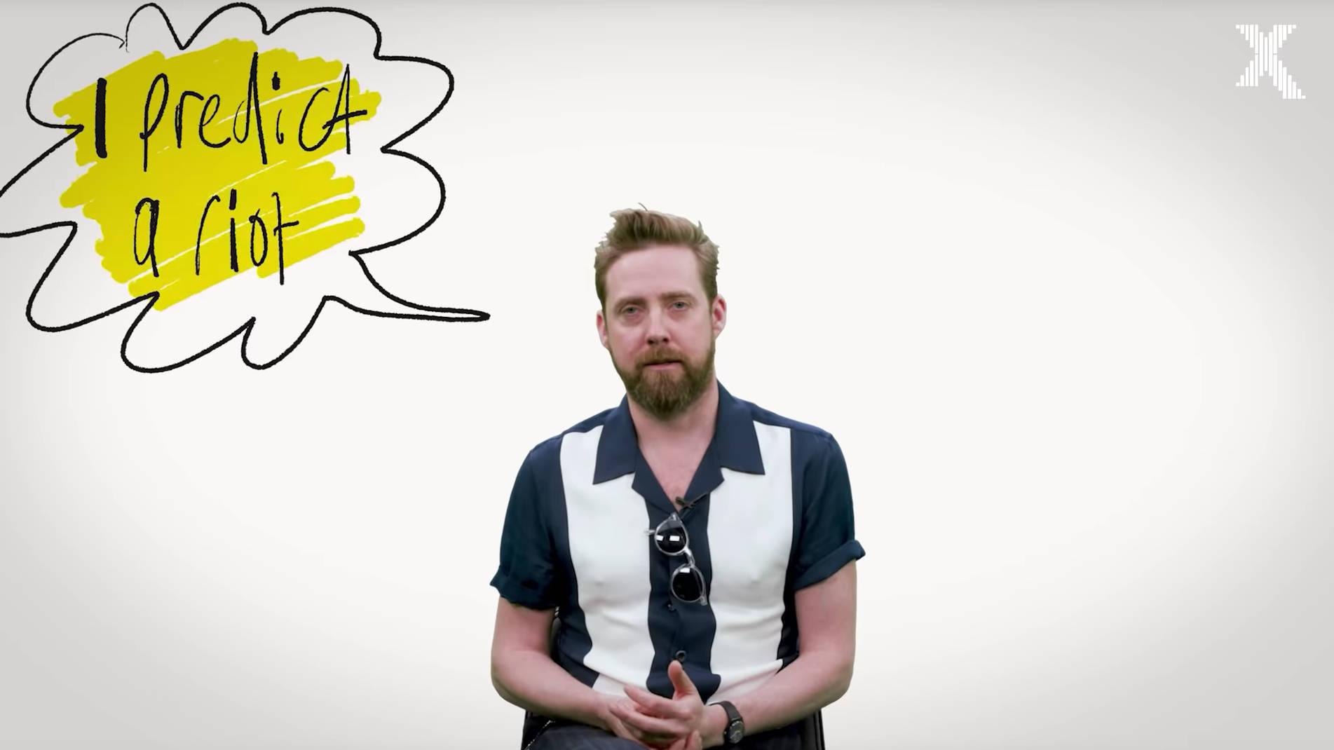 VIDEO: Kaiser Chiefs' Ricky Wilson explains the story behind I Predict A Riot