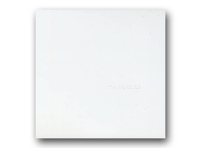 "The Beatles - The ""White Album"" cover artwork"