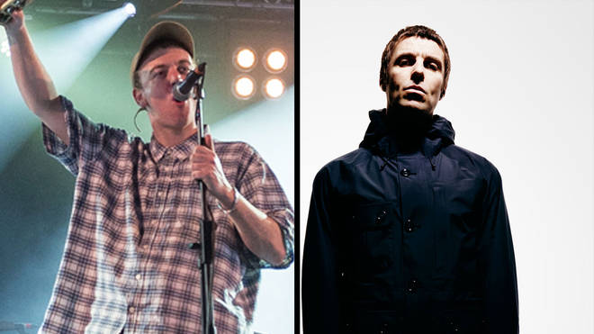DMA's Johnny Took and Liam Gallagher