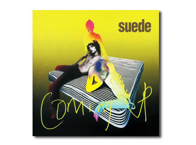 Suede - Coming Up album artwork