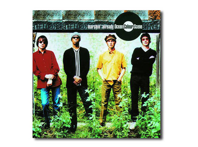 Ocean Colour Scene - Marchin' Already album cover