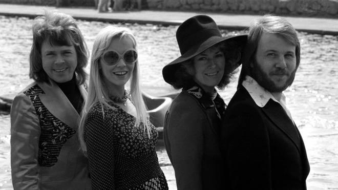 ABBA in 1974