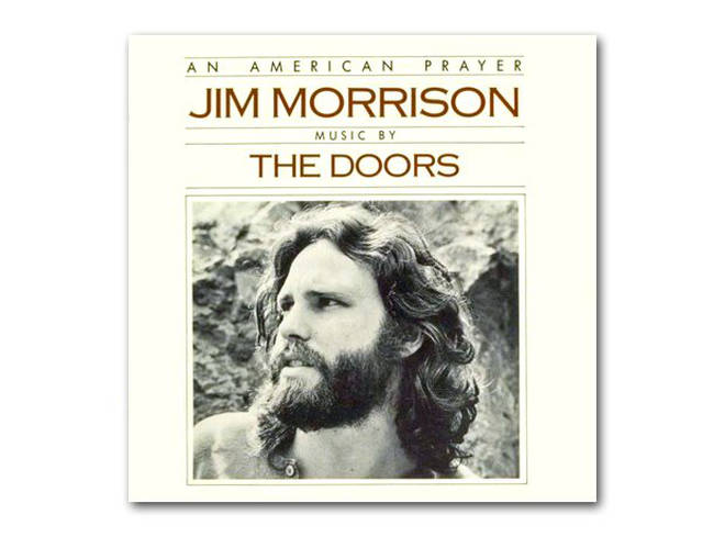 Jim Morrison - An American Prayer album cover