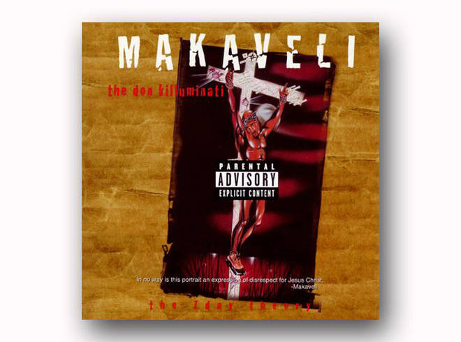 Tupac Shakur - The Don Killuminati: The 7 Day Theory album cover