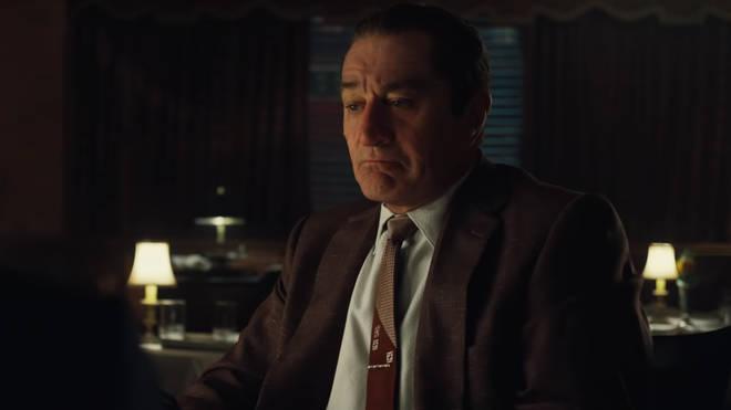 Robert De Niro stars in Martin Scorsese's The Irishman on Netflix