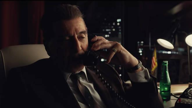 Al Pacino stars in Martin Scorsese's The Irishman