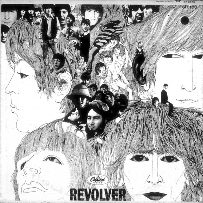 "Beatles ""Revolver"" Album Cover"