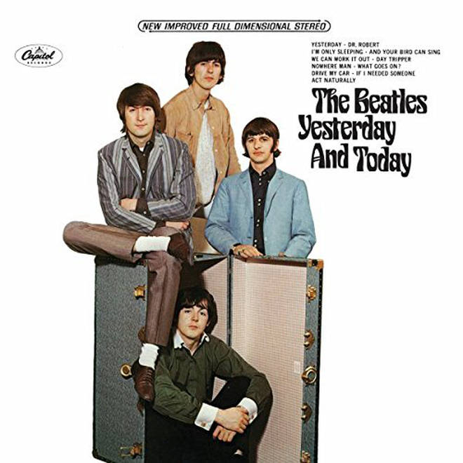The Beatles - Yesterday And Today album cover
