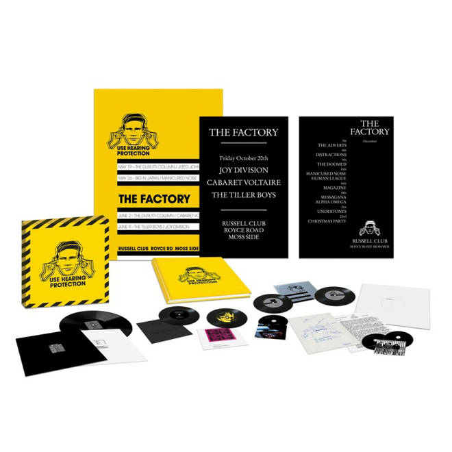 Factory Records 40th anniversary box set