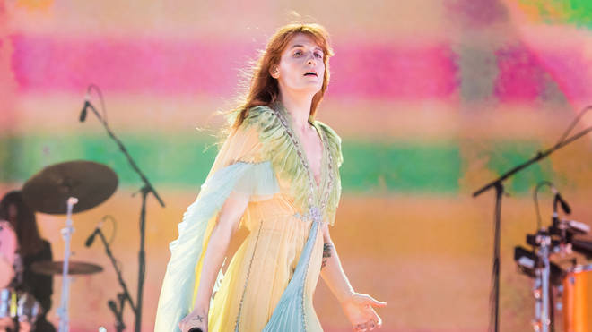 Florence Welch of Florence and the Machine performs in 2019