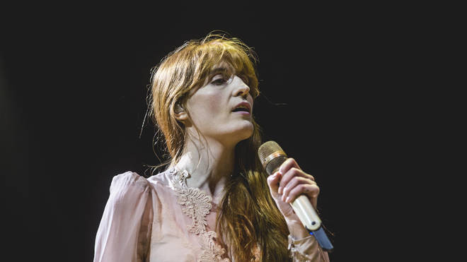 Florence and the Machine performing live in 2019