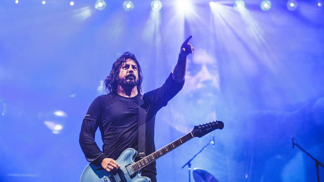 Foo Fighters performs live on stage during the Hurricane festival 2019
