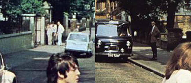 The other people pictured on the Abbey Road cover