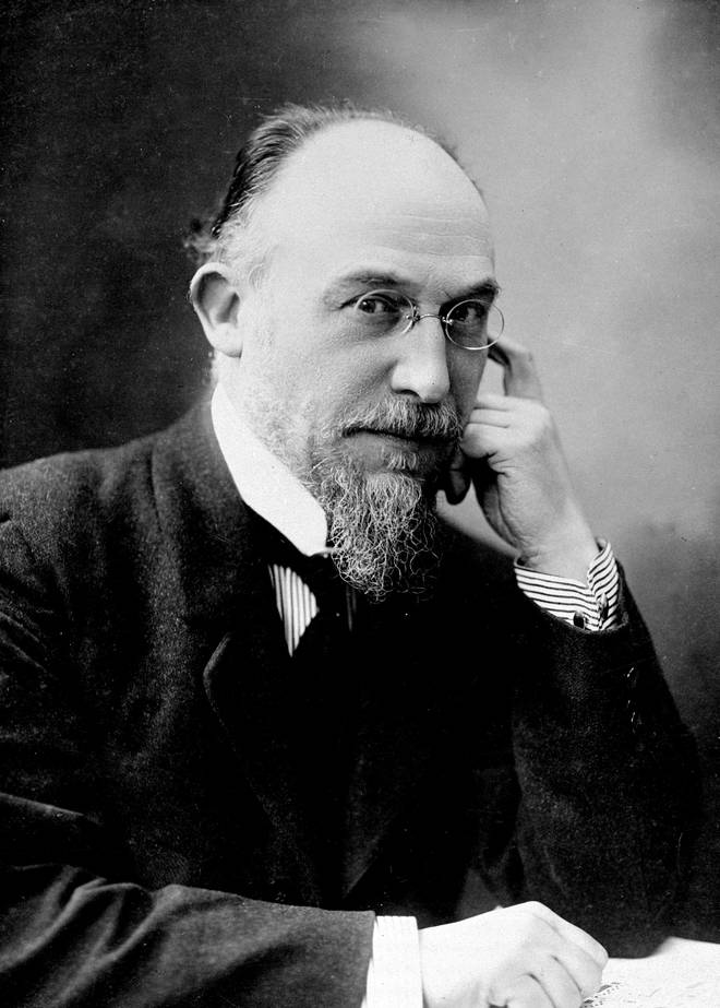 French composer and pianist Erik Satie