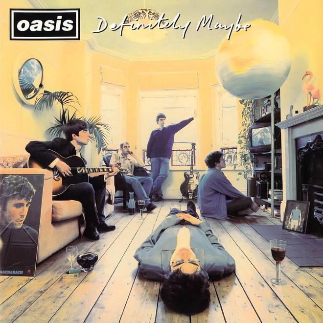 Oasis Definitely Maybe album artwork