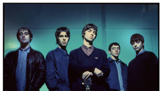 Oasis Definitely Maybe-era photo