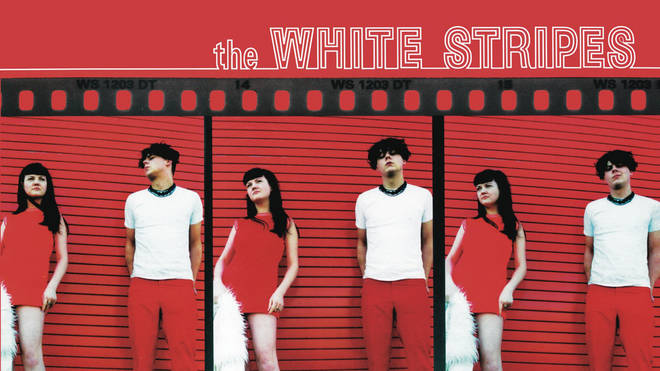 The White Stripes debut album cover