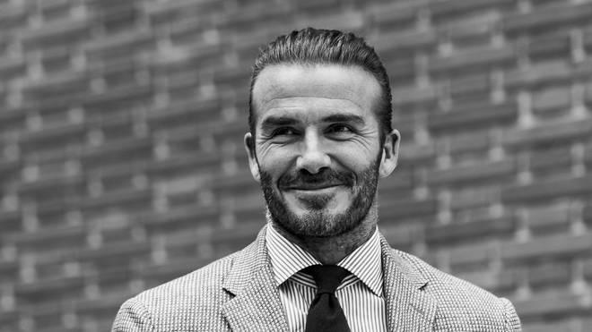 David Beckham in 2017