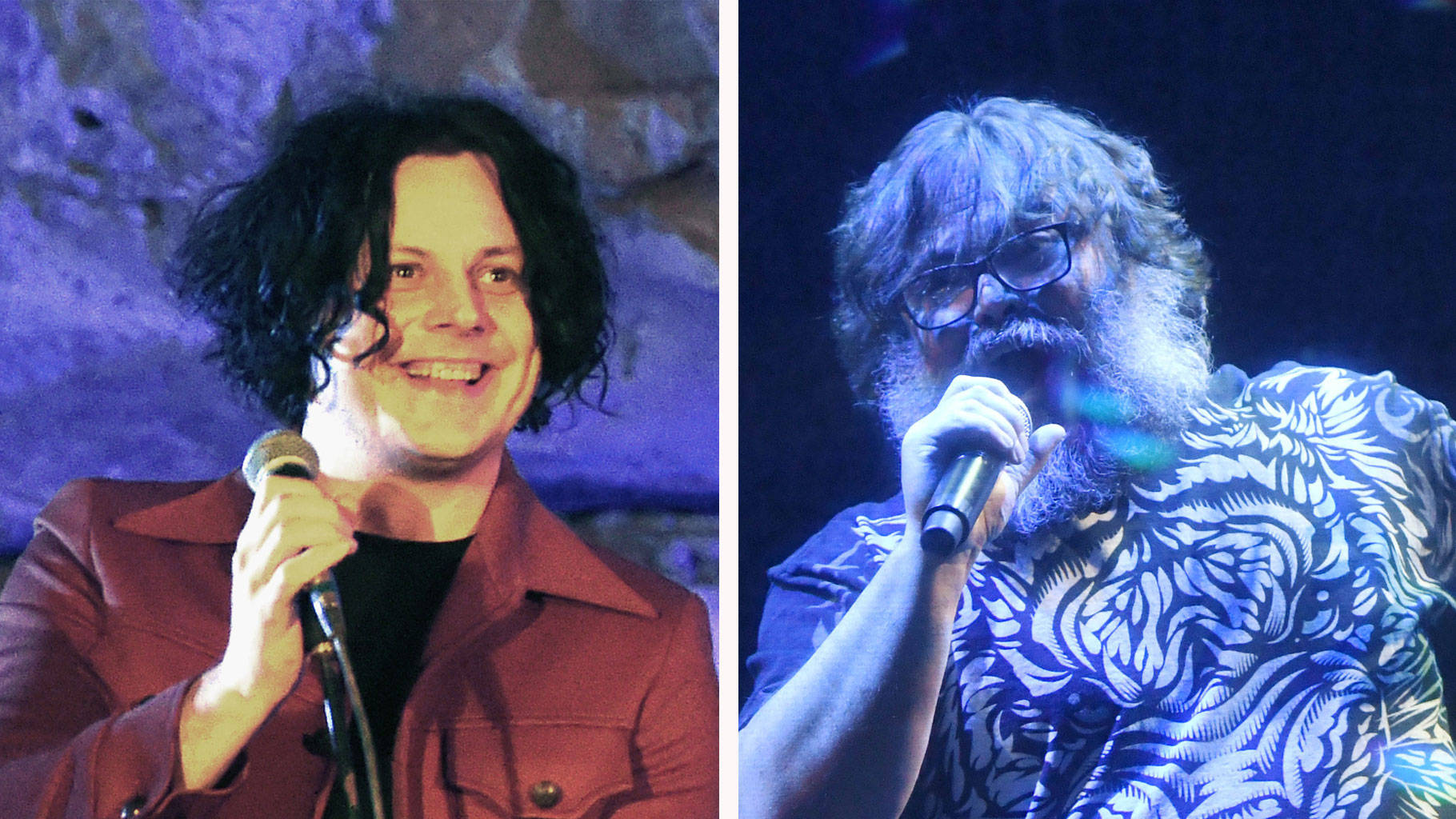 Jack White and Jack Black have finally made music together