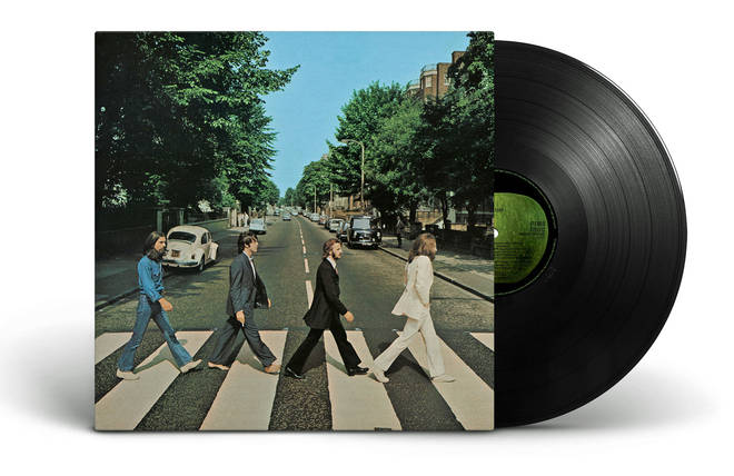 The Beatles - Abbey Road reissue album cover
