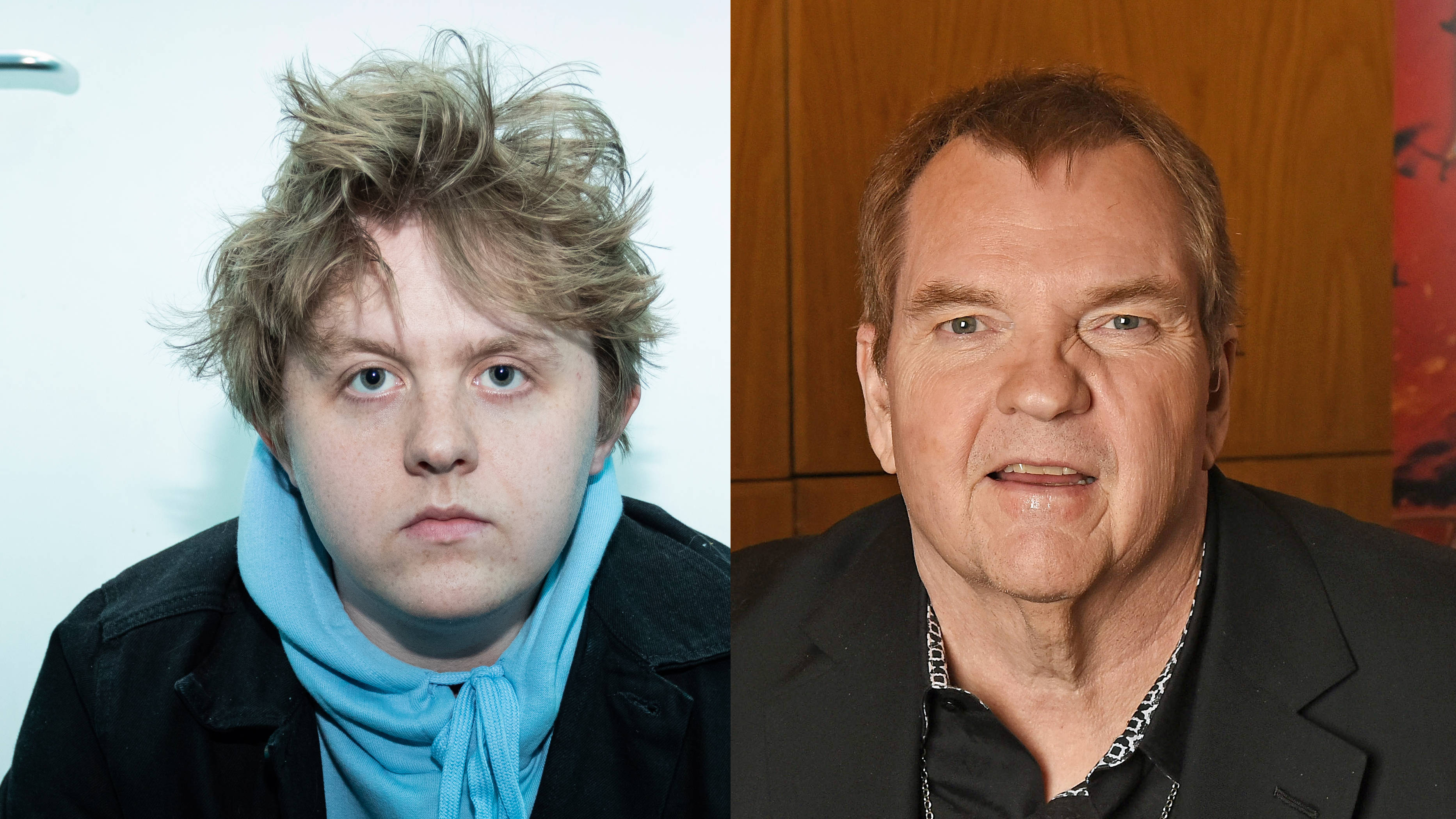 Lewis Capaldi wants Meat Loaf to play him in movie biopic