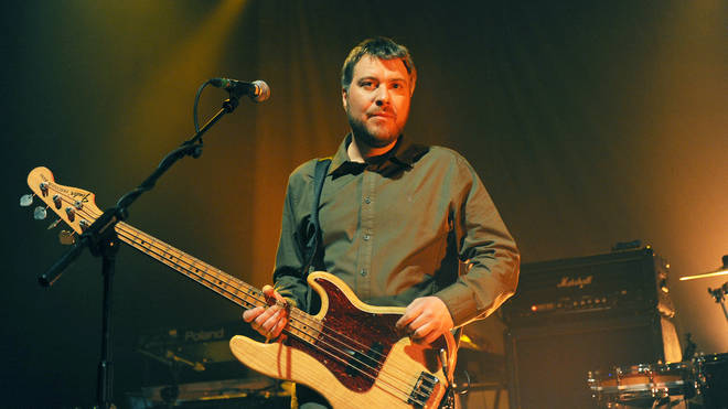 Jimi Goodwin of Doves performs at The Forum on March 19, 2009