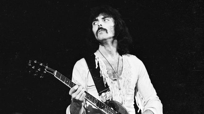 Tony Iommi of Black Sabbath in the mid-1970s