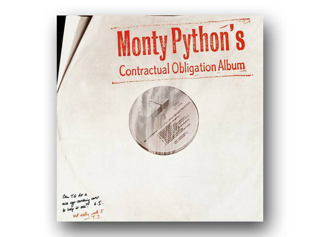 Monty Python's Contractual Obligation Album cover