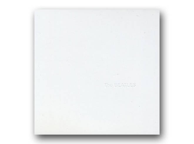 The Beatles - The Beatles white album cover