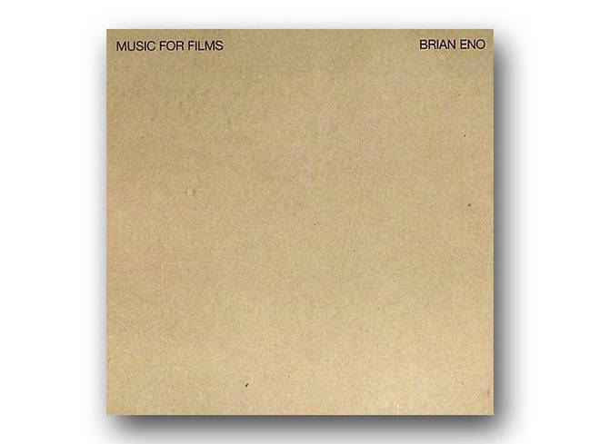 Brian Eno - Music For Films album cover