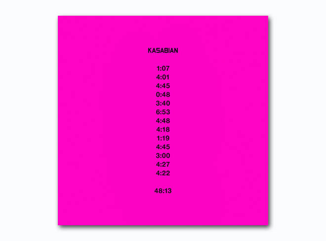 Kasabian - 48.13 album cover