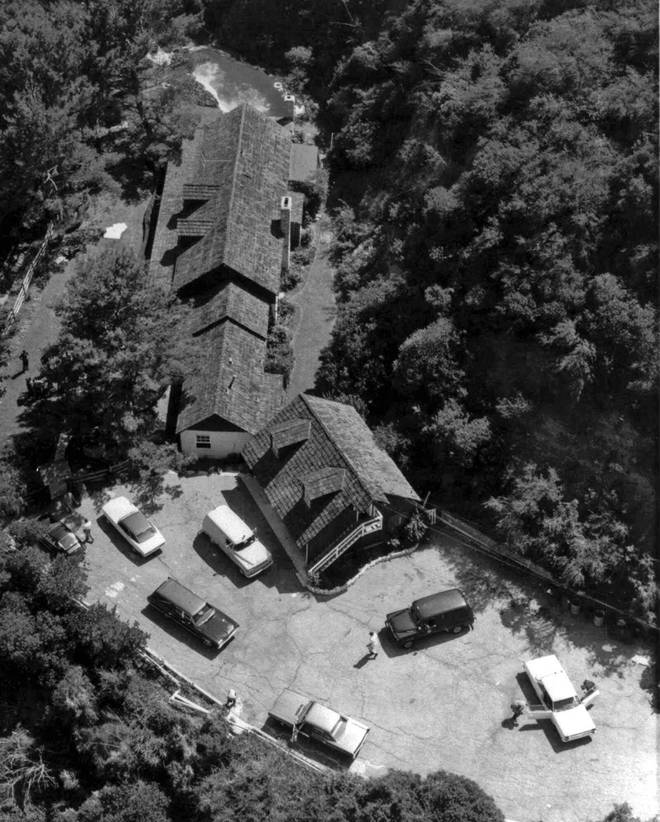 The home of actress Sharon Tate and director Roman Polanski, after Tate and four others were murdered Aug. 8-9, 1969