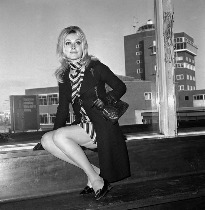 Sharon Tate in February 1966