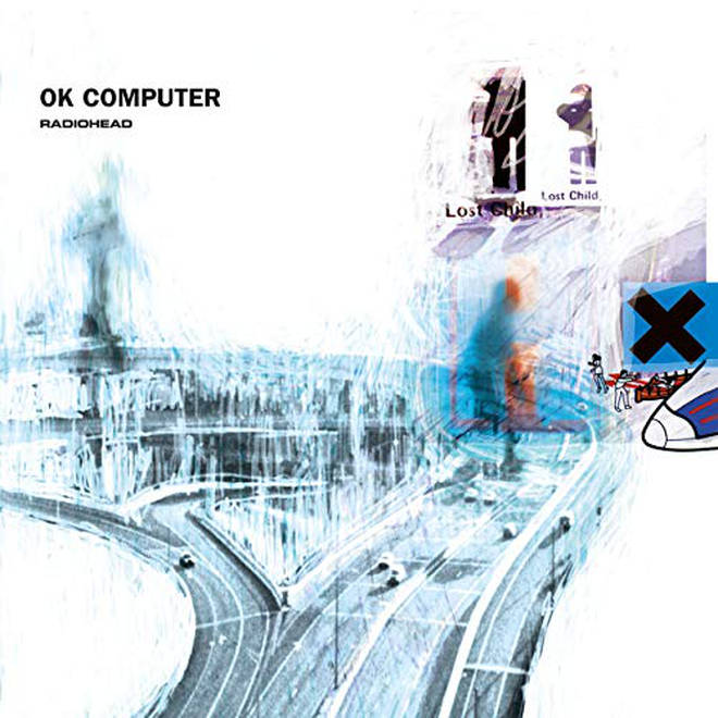 Radiohead - OK Computer album cover