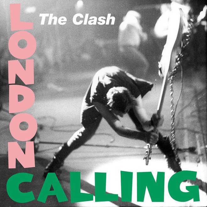 The Clash - London Calling album cover