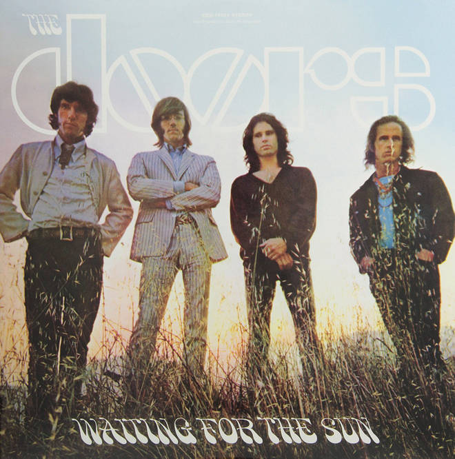 The Doors - Waiting For The Sun album cover