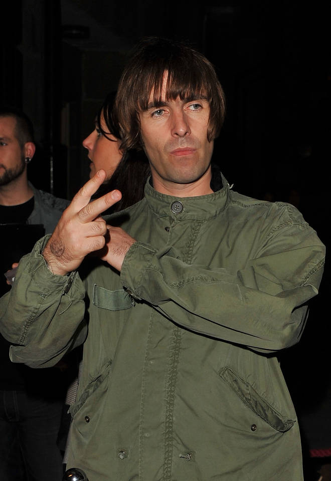 Liam Gallagher in September 2010