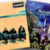 Oasis and Blur - the sleeves for Roll With It and Country House