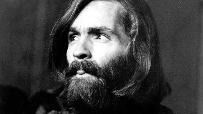 Charles Manson during his trial in 1970