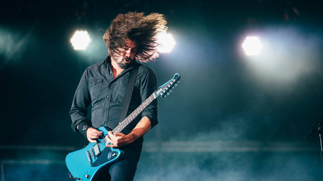 Dave Grohl onstage at Glasgow Summer Sessions, 17 August 2019
