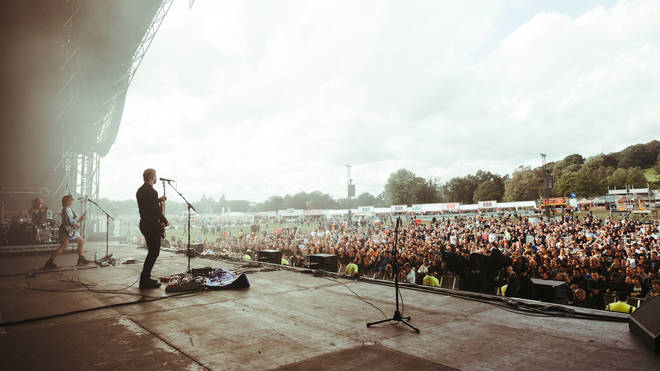The Joy Formidable at Glasgow Summer Sessions, 16 August 2019