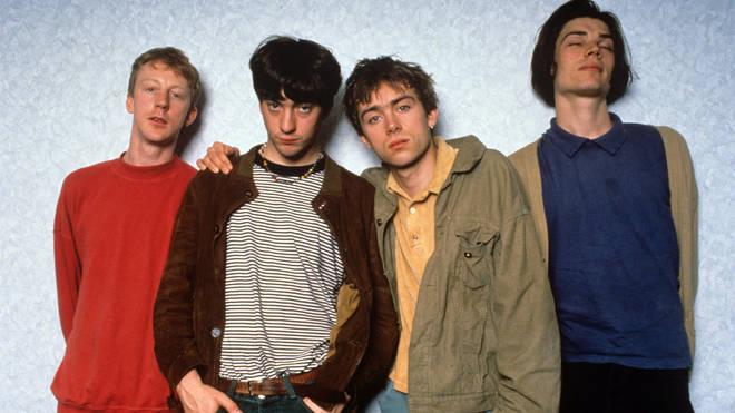 Blur - Dave Roundtree, Graham Coxon, Damon Albarn And Alex James