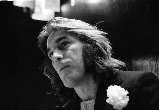 Dennis Wilson of The Beach Boys, London, December 1970.