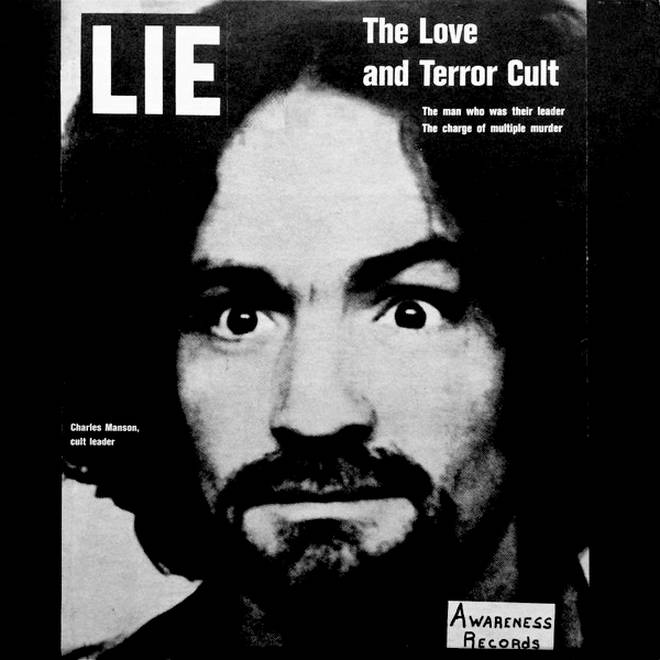 Charles Manson - LIE album cover